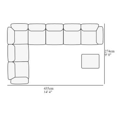 Angular 12 274x435 cm