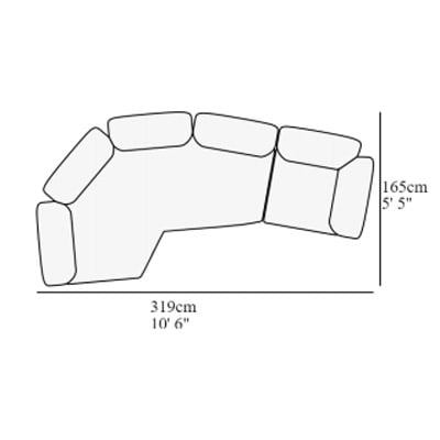 Angular 15 319x165 cm