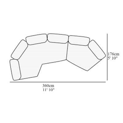 Angular 17 360x176 cm