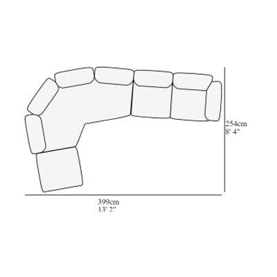 Angolare 19 399x254 cm