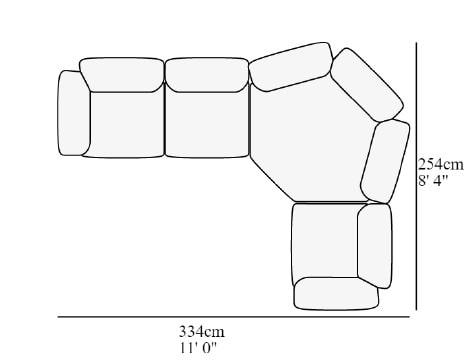 Angolare 23 334x254 cm
