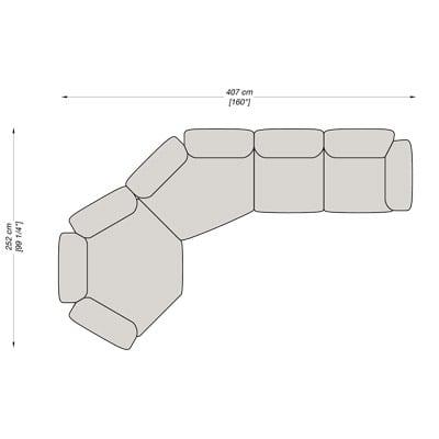 Angolare 7 407x252 cm