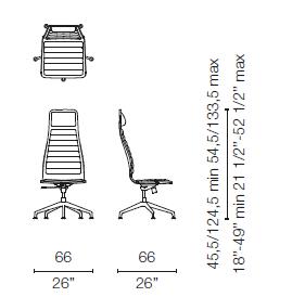 LSX55 (Base chair 5 spokes)