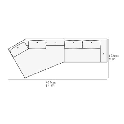 Angular 2 437x173 cm