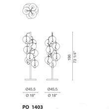 PO1403 (Cluster lamp with 8 diffusers) - +$724.44