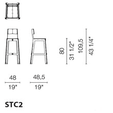 STC2 (Monocolor Stool)
