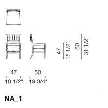 NA1 (Smooth Leather Chair)