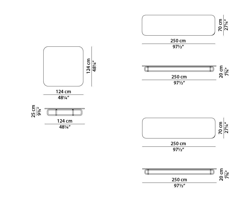 baxter malacca dimensions