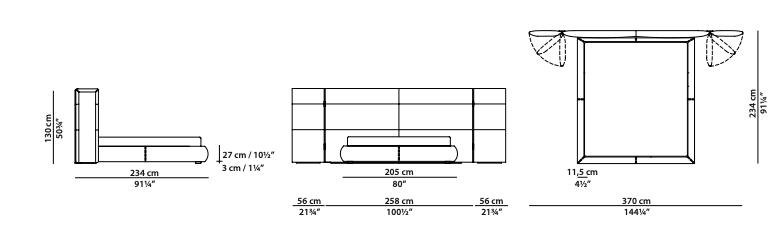 baxter-couche-extra-bed-medium-dimensions
