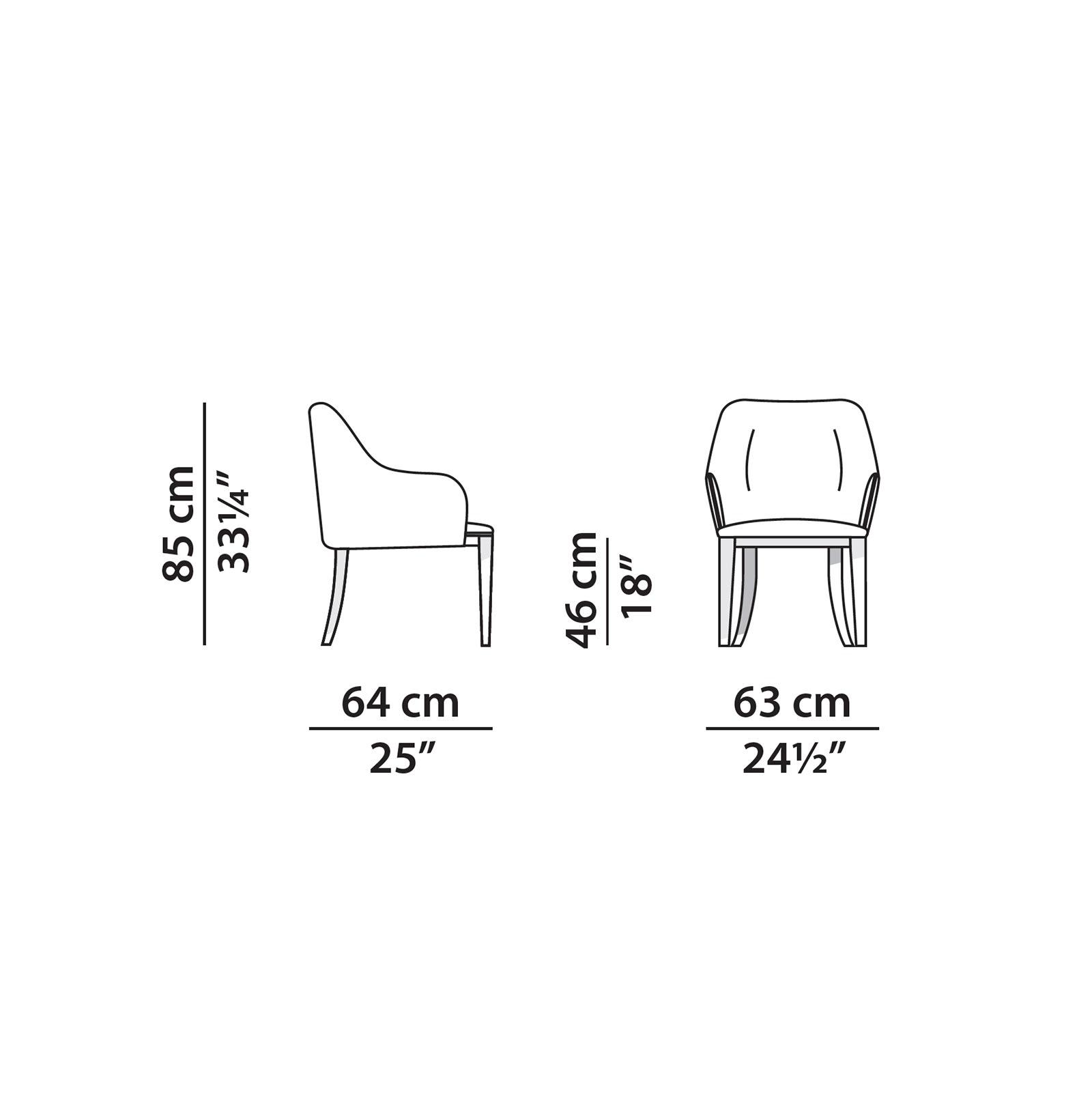 baxter-decor-armchair-size