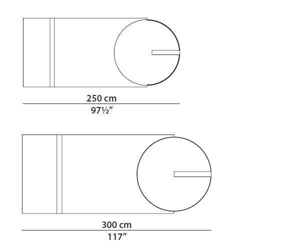 baxter selene dimensions