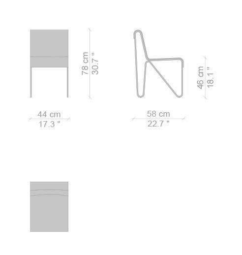 Cassina Beugel Dimensions