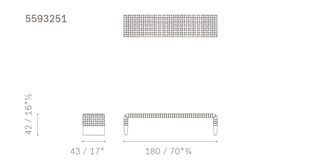 poltrona-frau-brera-bench-size