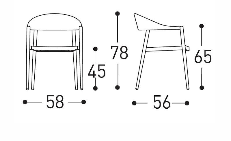 clever chair dimensions