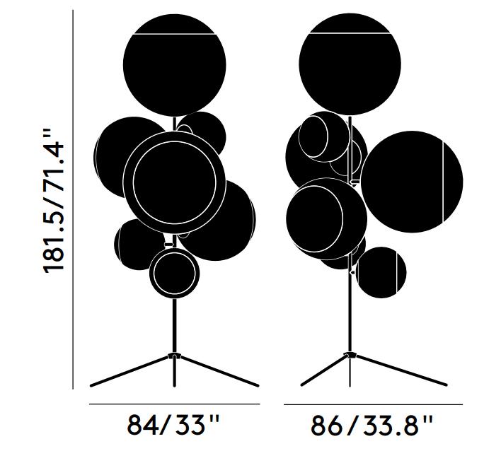 Emma sofa dimensions