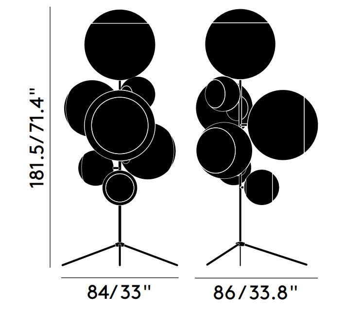 Mirror Ball Floor Dimensions