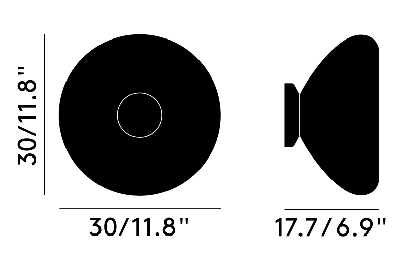 Void Surface Dimensions