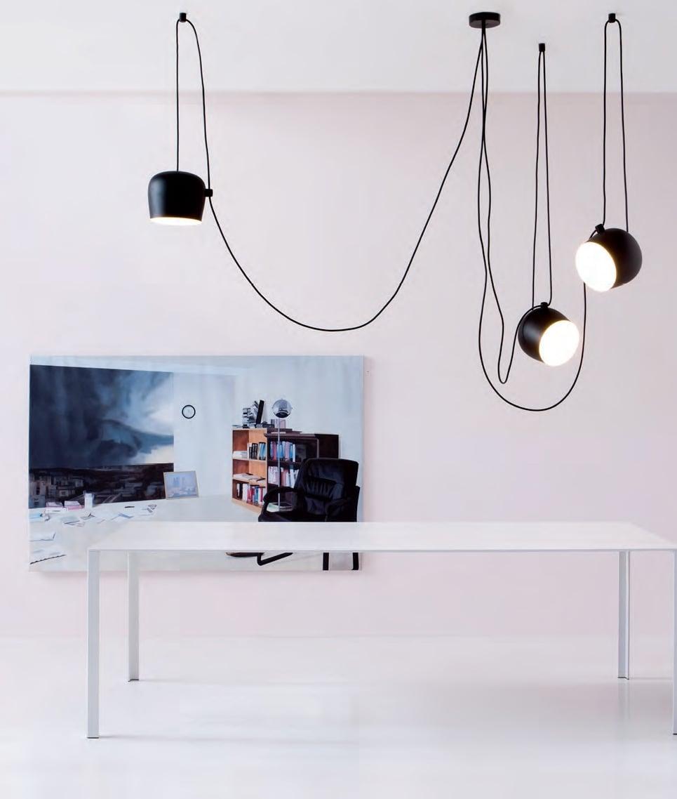 Flos Aim Small Suspension Lamp Deplain Com