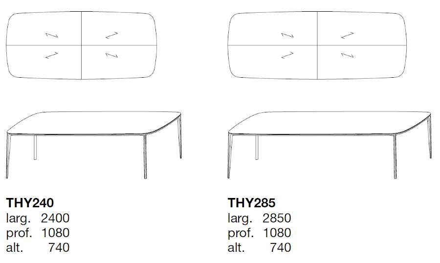 Poliform Henry dimensions