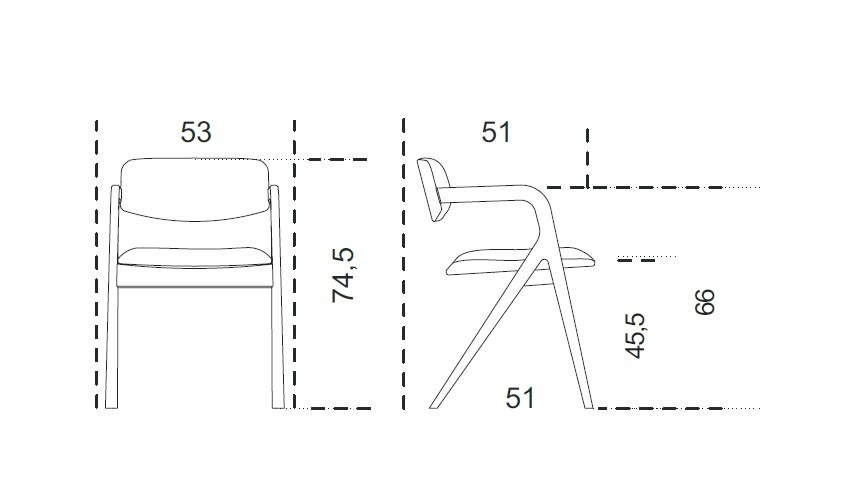 keyko-chair-size