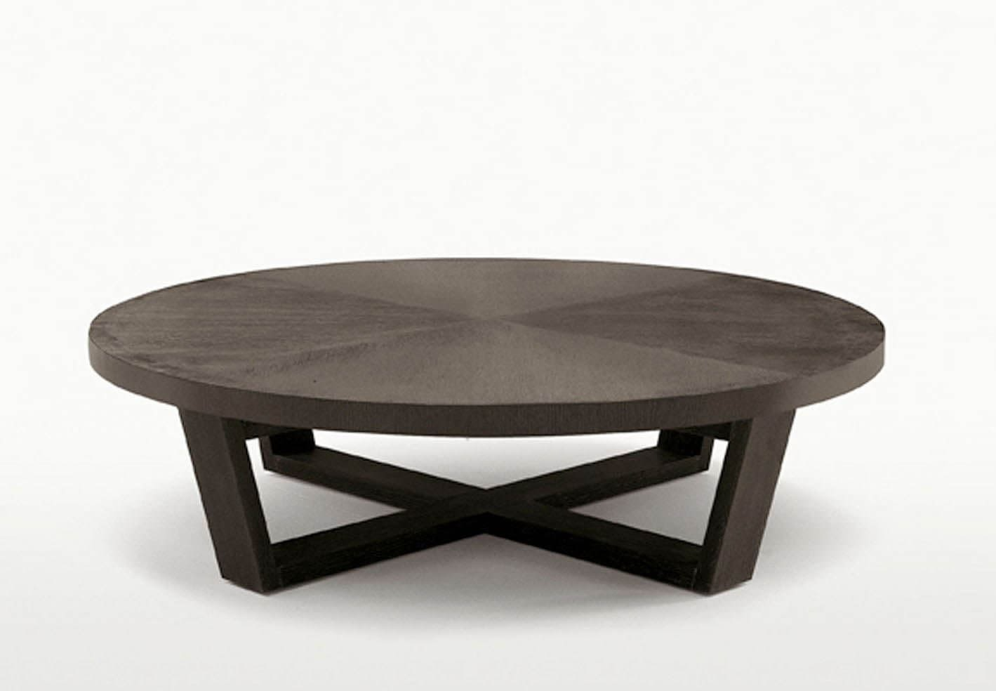 maxalto xilos coffee table round