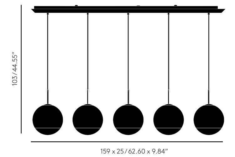 Tom Dixon Mirror Ball Linear