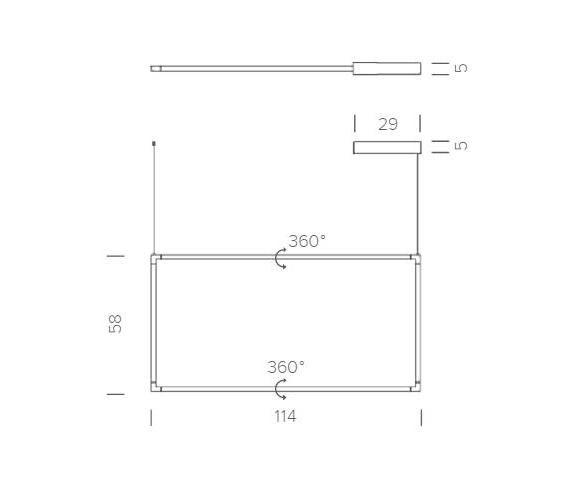 Spigolo Floor Vertical