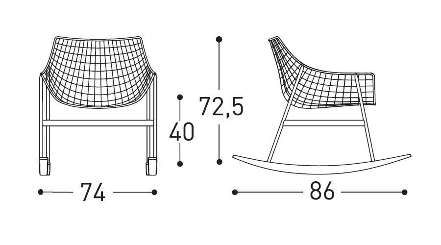 summer set rocking chair