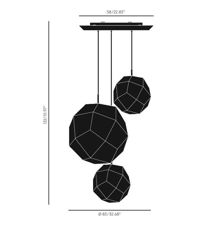 Etch Trio Dimensions