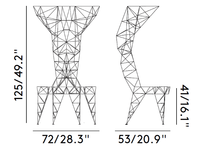 Pylon Chair Dimensions