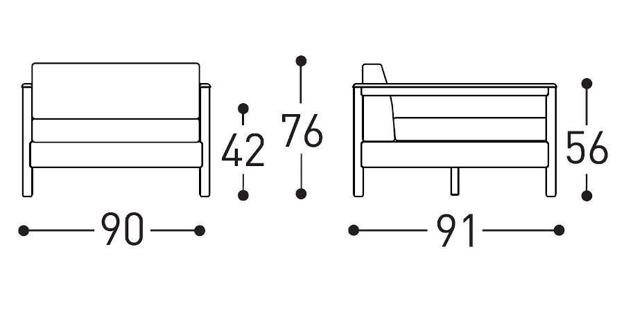 varaschin bali dimensions