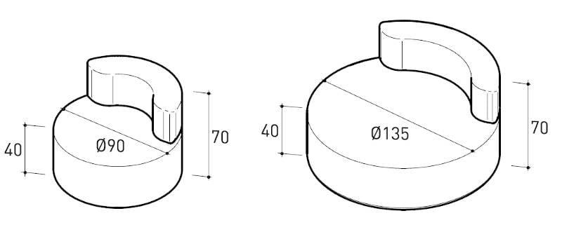 varaschin belt armchair dimensions