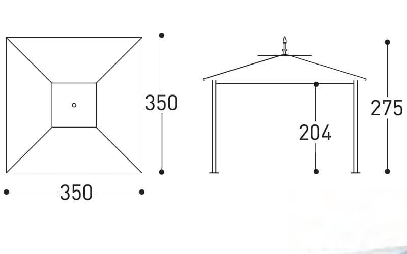 varaschin hawaii dimensions