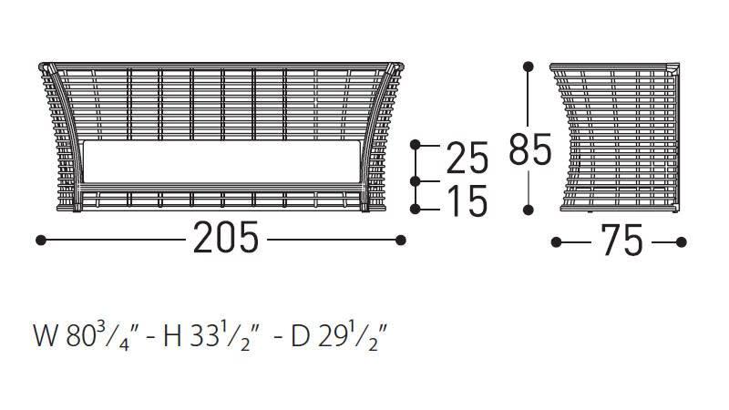 tonkino sofa dimensions