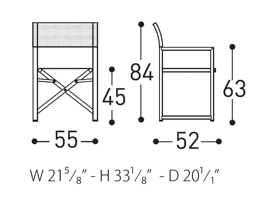varaschin victor dimensions