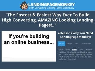 Landing Page Monkey Coupon