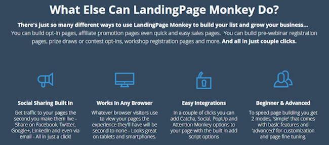 Landing Page Monkey Discount