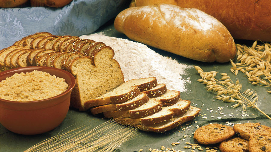 Whole grain breads and foods