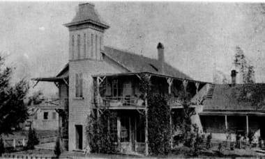 Fannie C. Paddock Memorial Hospital, c. 1882