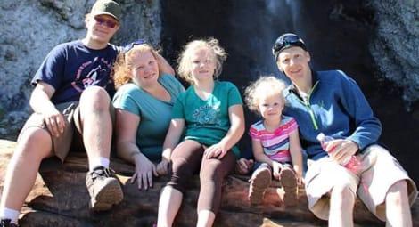 Brett Nowlin Fand family