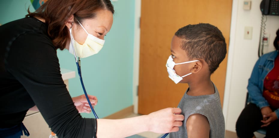 Mary Bridge Children's patient and provider