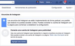 anuncios en instagram desde facebook