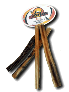 Pizzle sticks, bully sticks, dog treats, dog chews