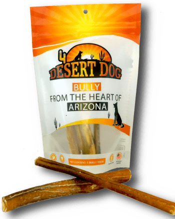 Desert Dog Bully Sticks, Pizzle stick, Chews for dogs