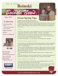 Boinski Realty Newsletter