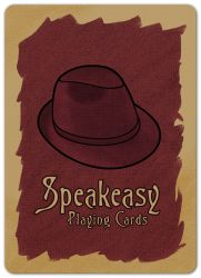 Speakeasy Playing Cards