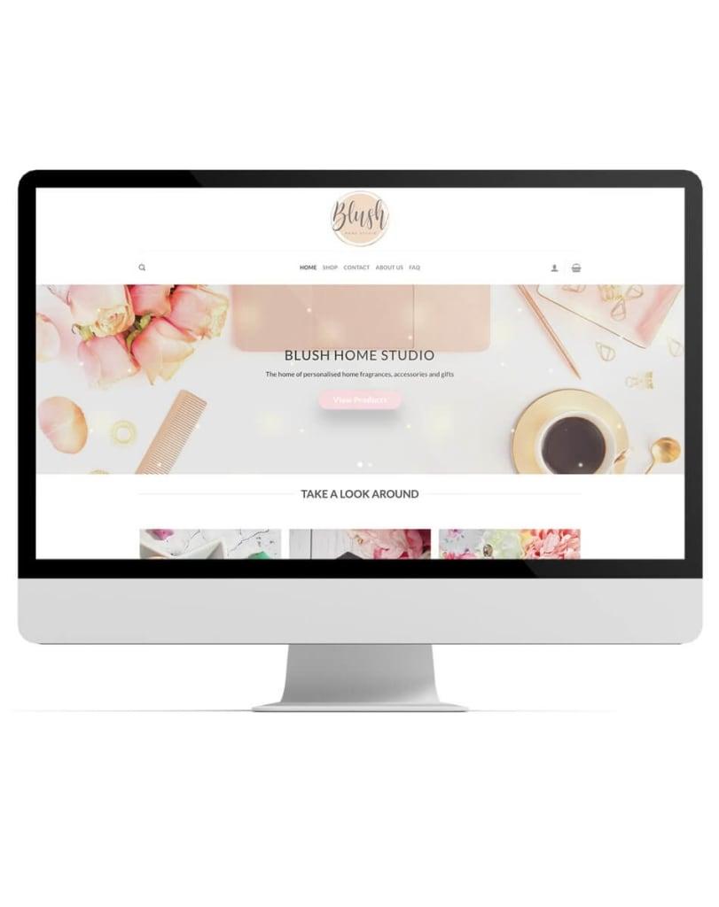 Blush website