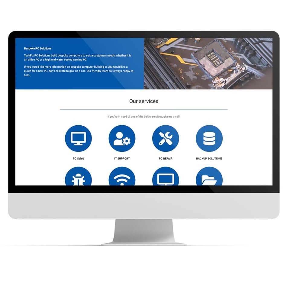 Techfix PC website