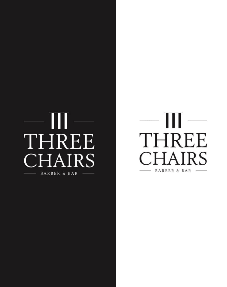Three chairs logo
