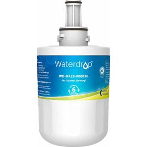 Waterdrop DA29-00003G Refrigerator Water Filter, Replacement for Samsung DA29-00003G, Aqua-Pure Plus DA29-00003B, HAFCU1, DA29-00003A (Package May Vary)